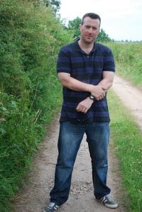 Bridlepath in Seighford, July 2012