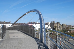 Bridge to Holyhead High Street