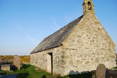 chapel on Holy Island