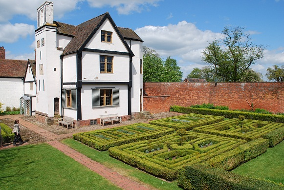 Boscobel House where Charles II hid