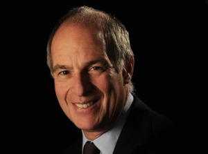 Loyd Grossman was an entertaining speaker in Chester
