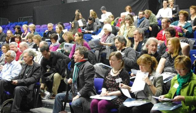 Audience at November's Writers' Toolkit 2012