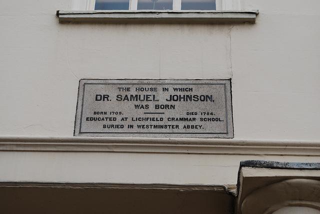 Dr Johnson's House - where the bus tour concludes