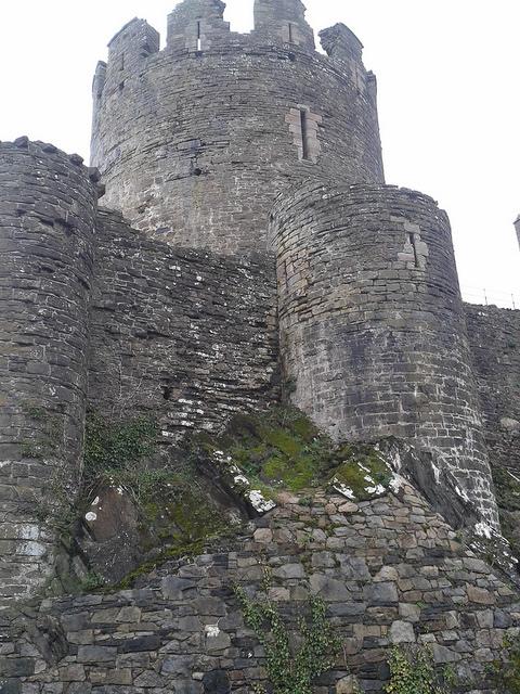 Walls of Conwy Castle