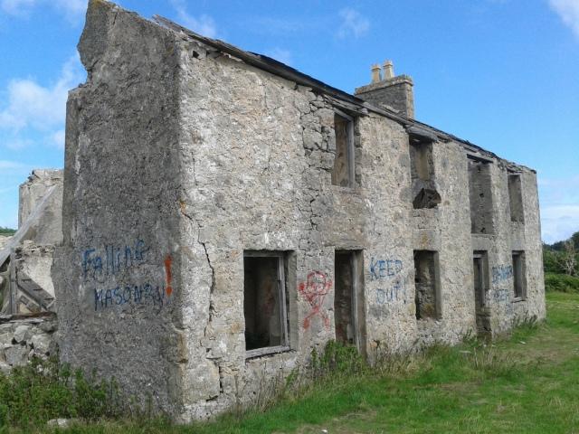 Tumbledown cottage