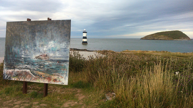 Art at Penmon Point